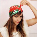 Повязка для волос с челкой | Как носить повязку с челкой | Фото