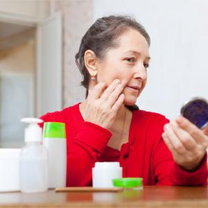 Как убрать морщины на щеках?
