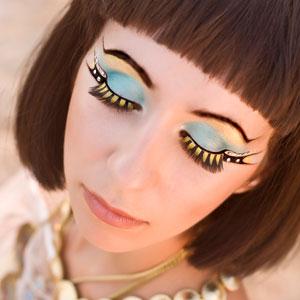 Макияж Клеопатры - глаза