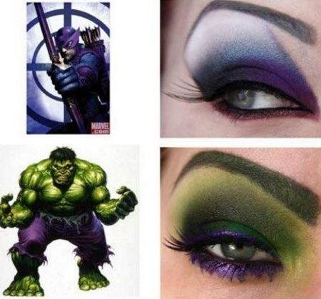 Арт макияж - как делать