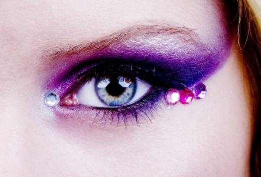 Подиумный макияж - акцент на глаза