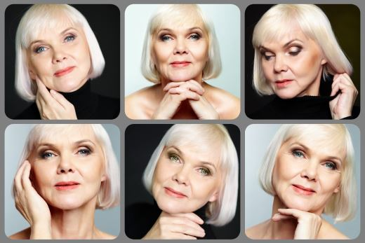Как делать возрастной макияж глаз с нависшим веком, губ