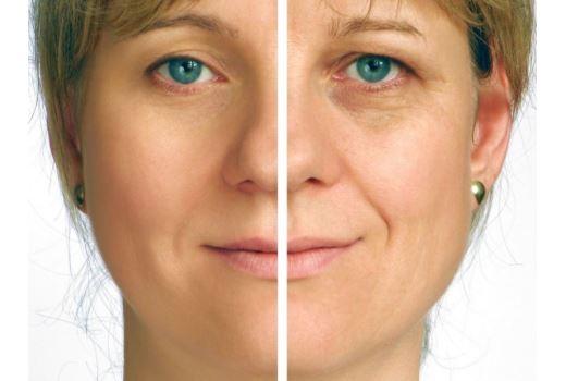 Тон лица для возрастного макияжа