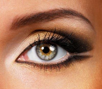 Как наносить макияж красить брови при нависших веках