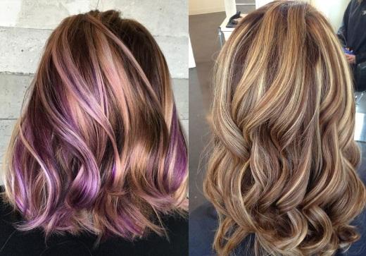 что такое колорирование волос фото до и после