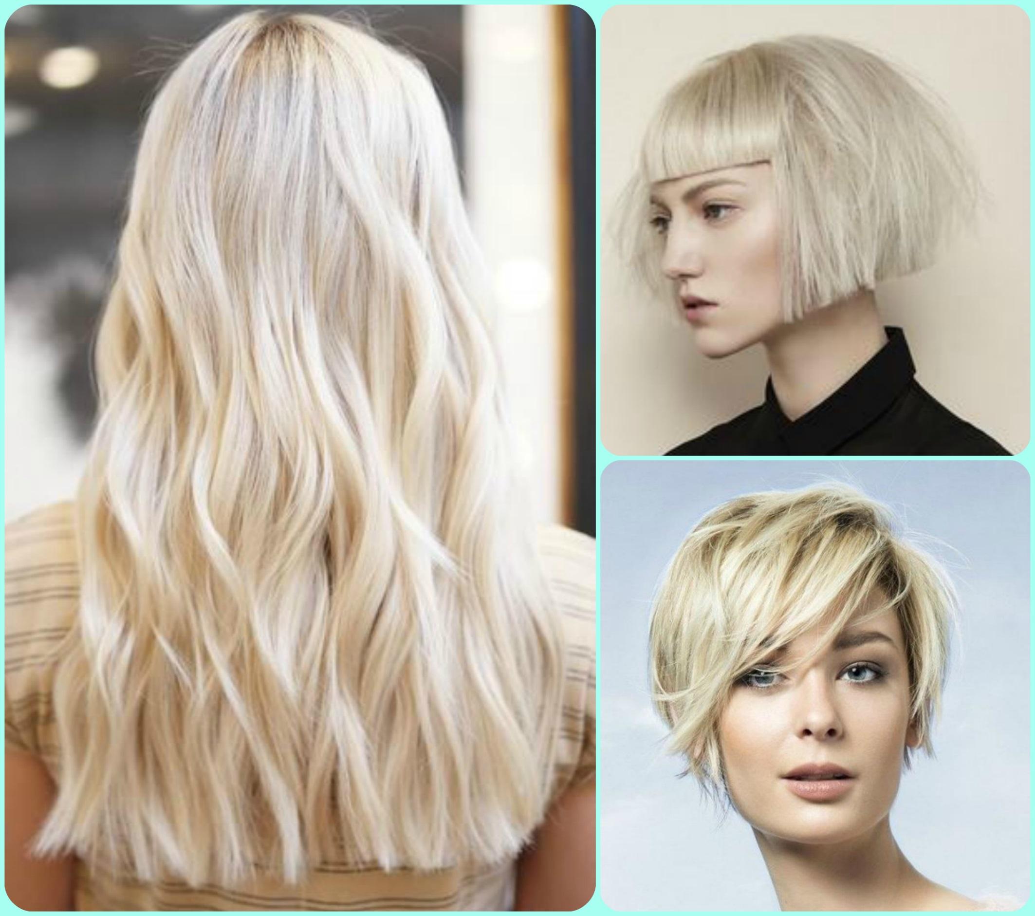Покрасить волосы в блонд