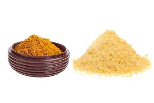 Маски с желатином и горчицей