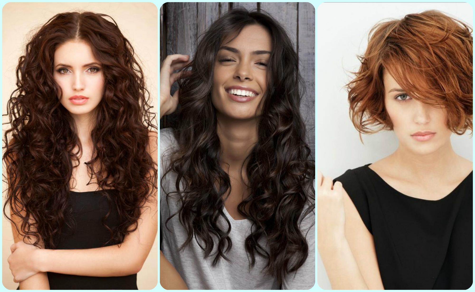 Какие стрижки лучше делать на кудрявые волосы