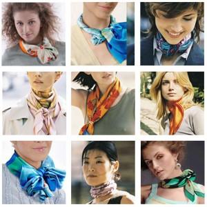 Как завязывать короткий шарф