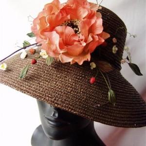 Как можно украсить женскую шляпу
