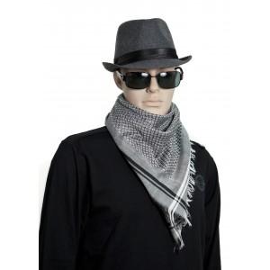 Как носить мужское кашне
