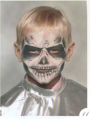 Кощей бессмертный макияж фото