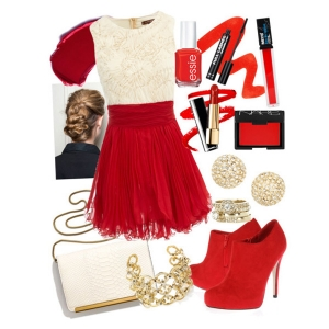 С Чем Одеть Красные Ботильоны
