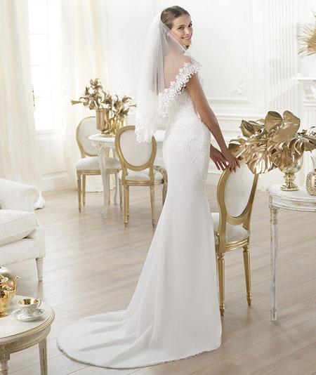 Свадебные платья рыбка фото невест