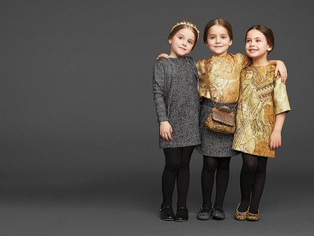 Детское модное платье фото