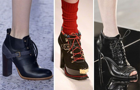 Модные женские ботинки 2017