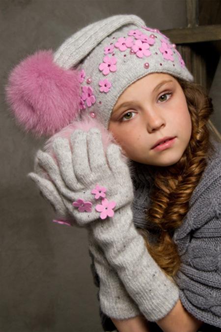Модные детские шапки 2017