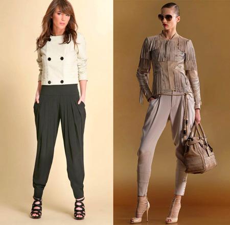 Осень 2018 преобразит знаменитые брюки галифе и брюки-афгани так, что их  станет тяжело отличить друг от друга. Такая путаница происходит благодаря  тому, ... c8fec0851fa