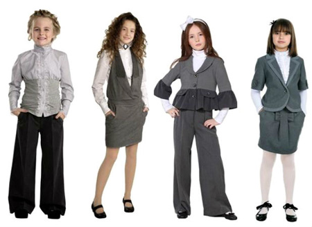 Модная школьная форма 2017