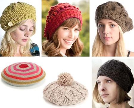 Вязание шапок девушкам 111