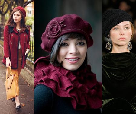 Модные береты 2017