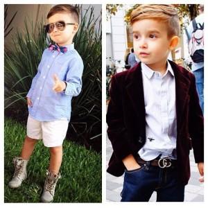 Как одеть мальчика модно