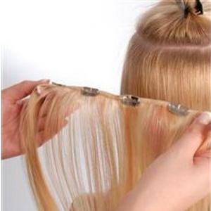 Как правильно одевать волосы на заколках