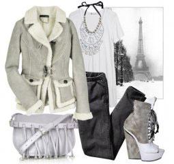 Модная женская одежда осень зима 2010