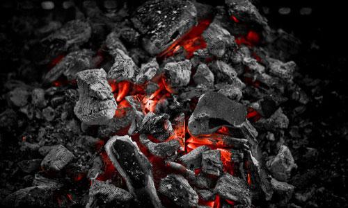 Первая буква обозначает марку угля: бурый уголь обозначается буквой